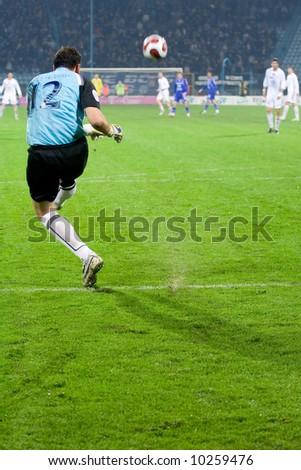 soccer or football goalkeeper - stock photo