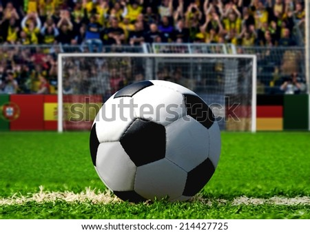 Soccer Penalty Kick - stock photo