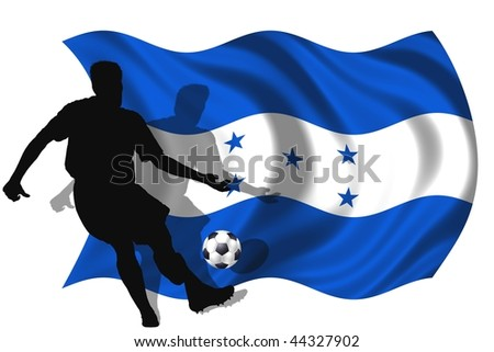 soccer player Honduras - stock photo