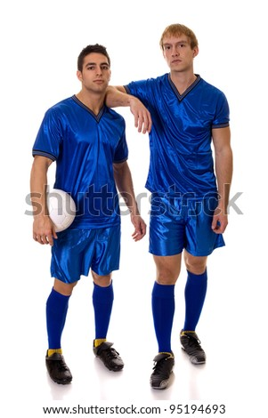 Soccer Players - stock photo