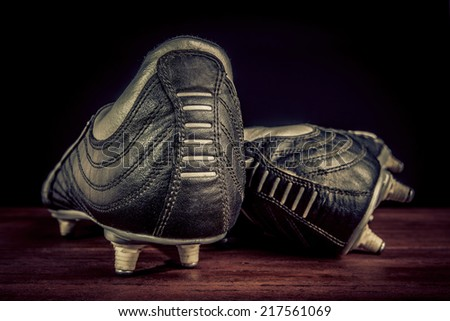 soccer shoes - stock photo