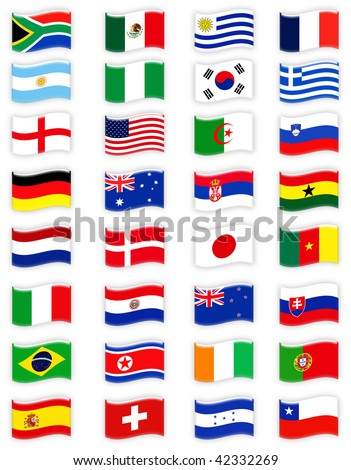 Soccer World Cup 2010 - stock photo
