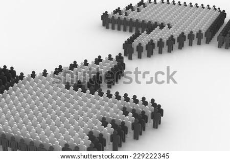 social concept - stock photo