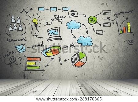 Social, media, making. - stock photo