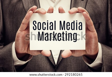 Social Media Marketing - stock photo