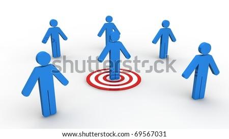 Social Media Marketing - stock photo