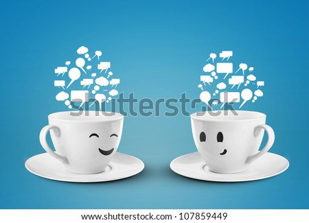 Social media tag, internet concept - stock photo