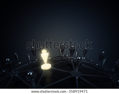 Social network and communication concept - stock photo