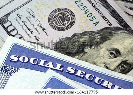 Social Security Benefits - stock photo