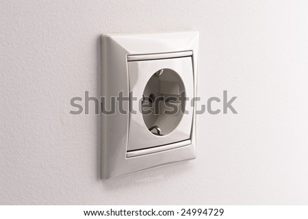 socket side view - stock photo