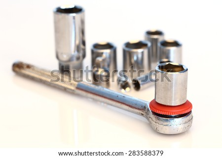 Socket spanner set,shallow Dof