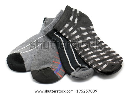 socks isolated on a white background