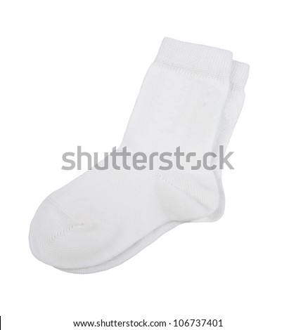 socks isolated on white background