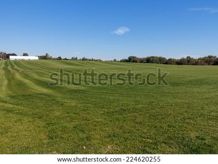 Sod Farm - stock photo