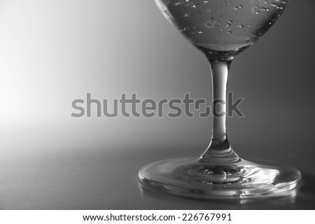 Soda drinks in glass isolated on white.