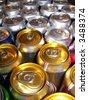 Soda pop can top - stock photo