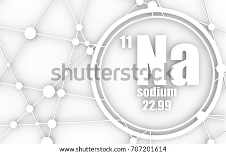 Sodium chemical element sign atomic number stock illustration sodium chemical element sign with atomic number and atomic weight chemical element of periodic urtaz Image collections