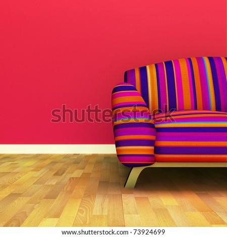 Sofa - stock photo