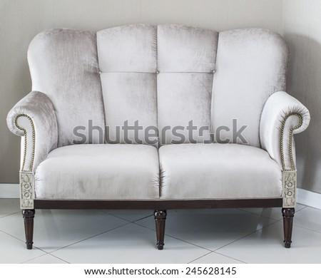 sofa chair - stock photo
