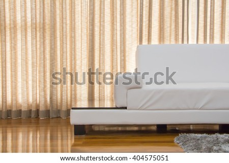 Sofa furniture in the living room