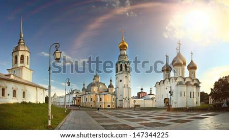 Sofia Cathedral Vologda Kremlin - stock photo