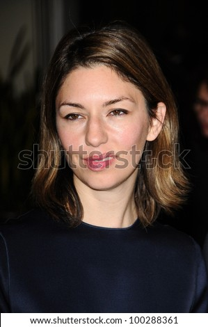 Sofia Coppola  at the  2nd Annual Academy Governors Awards, Kodak Theater, Hollywood, CA.  11-14-10