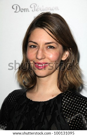 Sofia Coppola at the W Magazine Best Performances Issue Golden Globes Party, Chateau Marmont, West Hollywood, CA 01-13-12