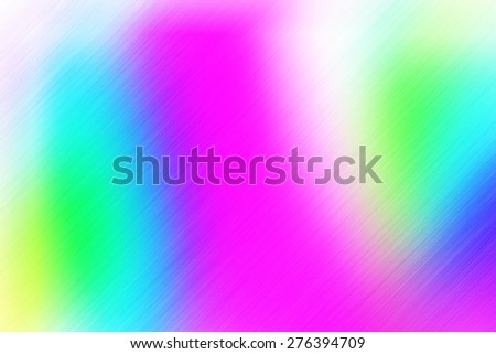 soft abstract blue green yellow pink background for various design artworks with up right diagonal speed motion lines - stock photo