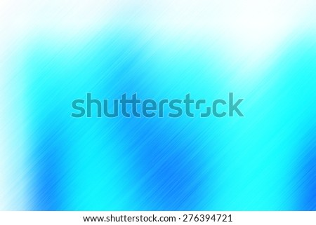soft abstract blue white background for various design artworks with up right diagonal speed motion lines - stock photo
