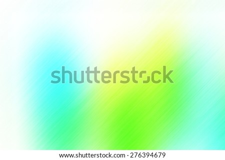 soft abstract green blue yellow background for various design artworks with up right diagonal speed motion lines - stock photo