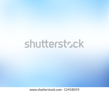 soft blue background formed by white and blue - stock photo