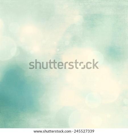 Soft blue fresh nature background - stock photo