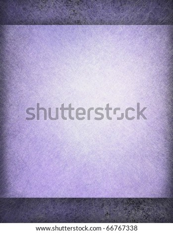 soft blue parchment paper on darker grunge background with texture, highlight, graphic art design layout, and copy space to add your own text - stock photo