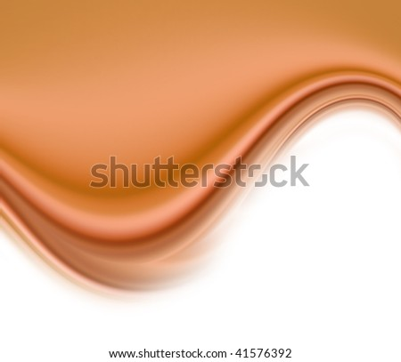 soft brown background with wave