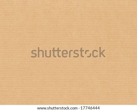 Soft cardboard paper texture - stock photo