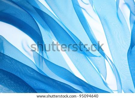 soft chiffon texture background - stock photo