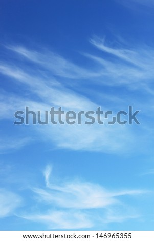 Soft cloudy sky background