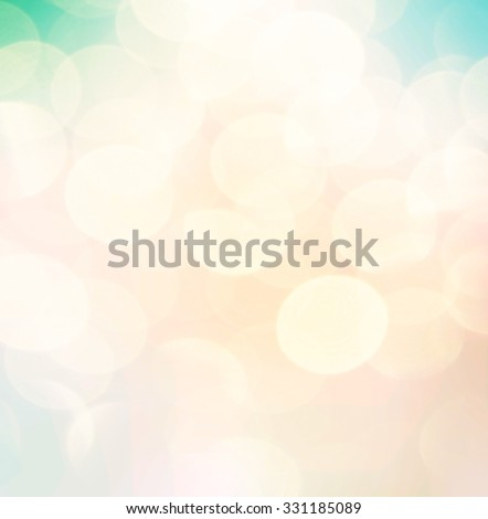 soft colorful bokeh background