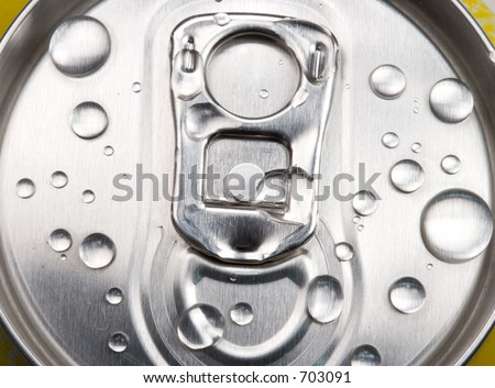Soft drink can - stock photo