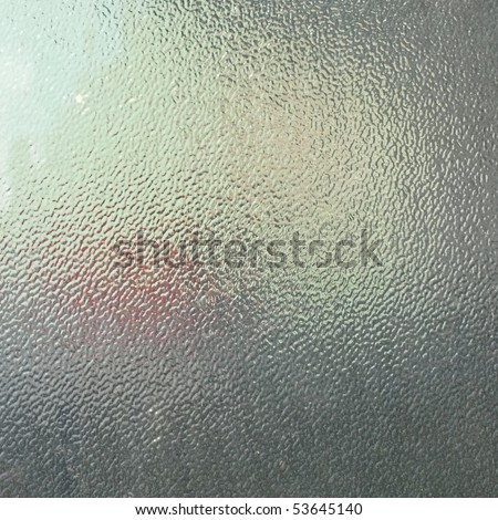 soft glass for texture or background. frosted glass - stock photo