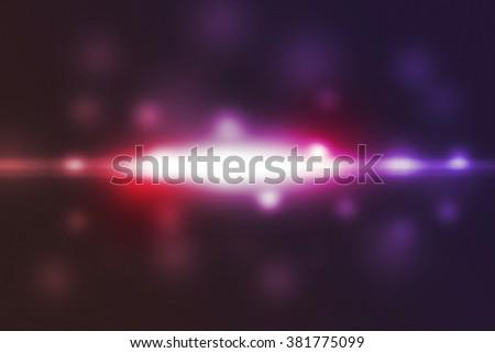 Soft Light Flare - stock photo