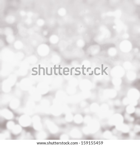 Soft lights background white and silver, grey color. Festive  blur background.  - stock photo