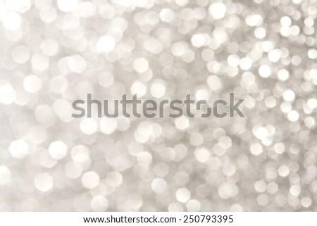 Soft lights silver background  - stock photo