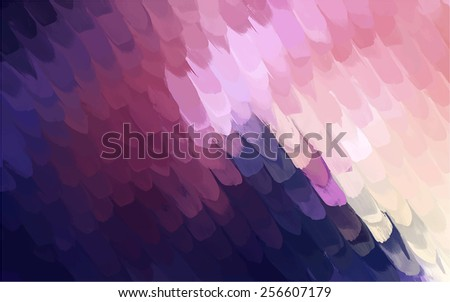 Soft pink and blue brush strokes background. Raster version - stock photo