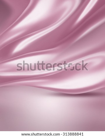 soft pink silk as background - stock photo