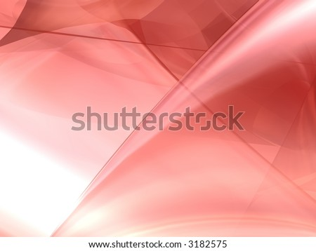 soft red background - stock photo