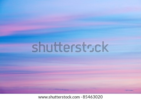 Soft sky background with strange colors - stock photo