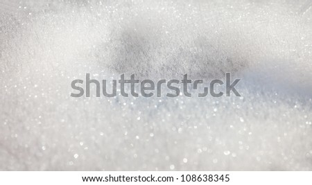 Soft white soapy bubbles as a background - stock photo