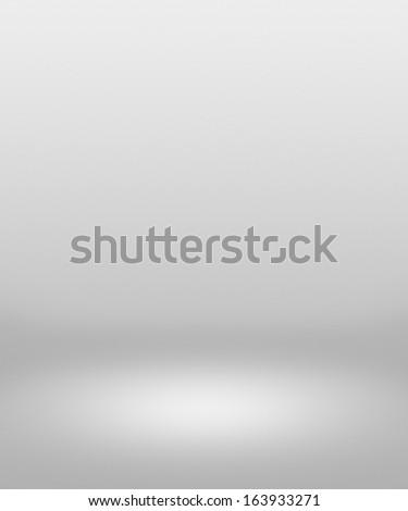 Soft White Spotlight Interior Background - stock photo