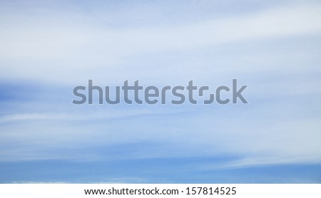 soften sky with blur background